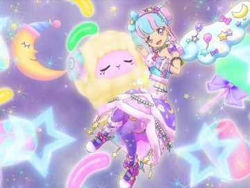 Star Premium Star Milky Dreamy Time (Ailes d'étoile) - FuwaFuwa Dream 品牌 的 星光 高級 魅力 秀。 服裝 : Sweet Dreams Coord。