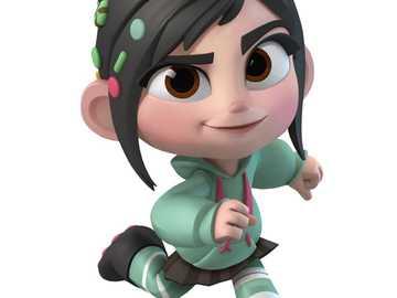 Vanellope Disney - una piccola principessa dal mondo di Ralph