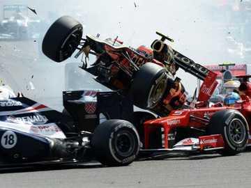 Accident de Formule 1 - Accident de Formule 1 ...........