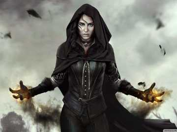 Yennefer: The Witcher - Yennefer: The Witcher