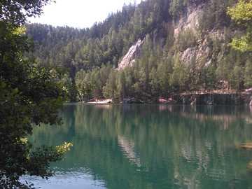 LAKE WITH A BLUE SHADE - LAKE WITH A BLUE SHADE
