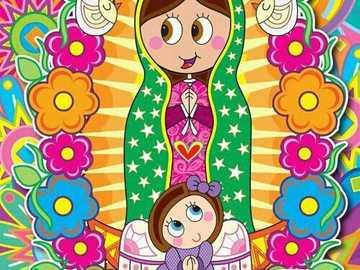 Guadalupes Jungfrau - 12. Dezember, Tag der Jungfrau von Guadalupe