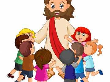 Jésus et ses enseignements - Jésus enseigne aux enfants