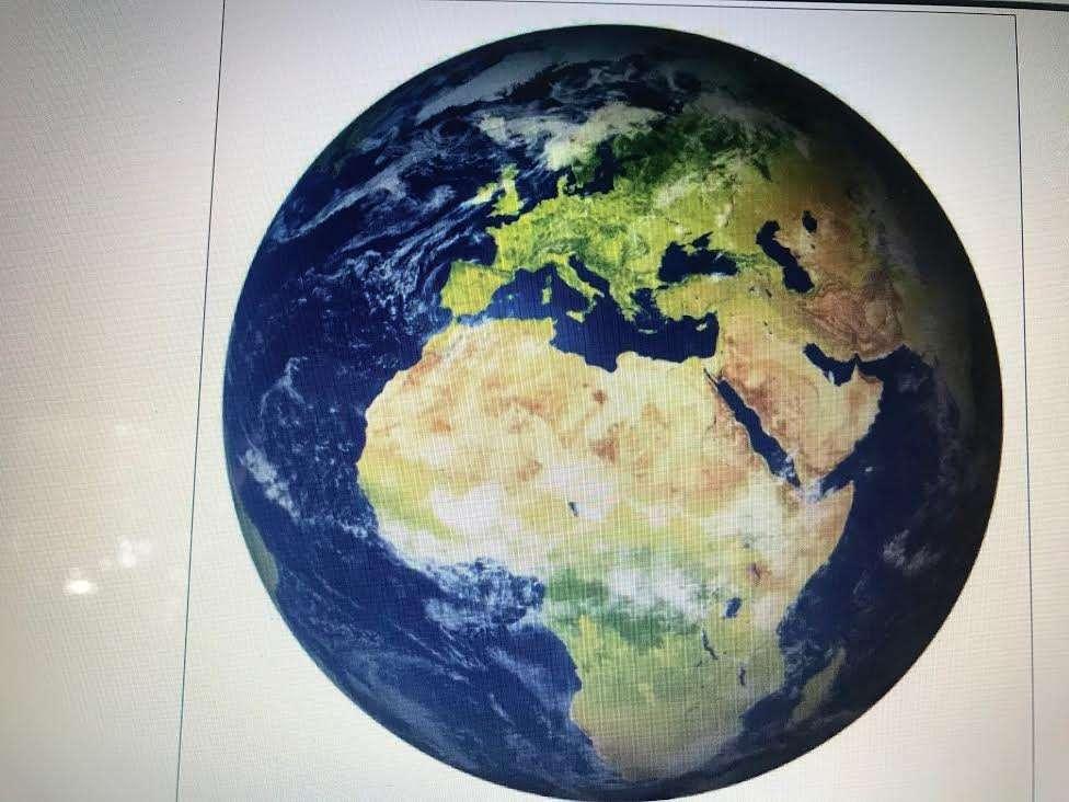 Yo en el mundo - Ми Мундо. Създайте лесен пъзел за 2 клас с 22 броя (5×4)