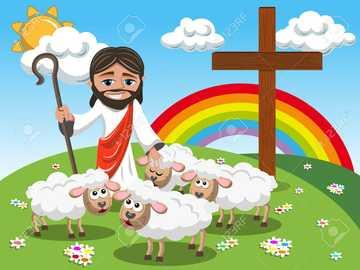 Gleichnis mit den verlorenen Schafen - LEKTIONEN VON JESUS FÜR PRESCHOOL-KINDER