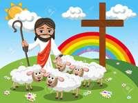 Gelijkenis het verloren schaap - LESSEN VAN JEZUS VOOR PRESCHOOLKINDEREN