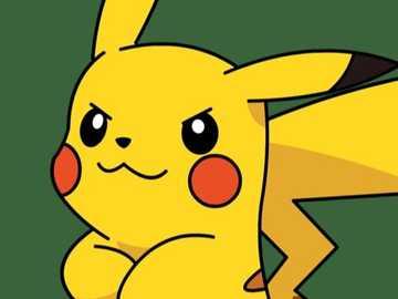 Puzzle Pikachu - Image de Pikachu à un niveau difficile