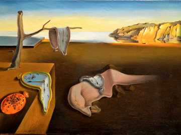 THE PERSISTENCE OF MEMORY - THE PERSISTENCE OF DALI MEMORY