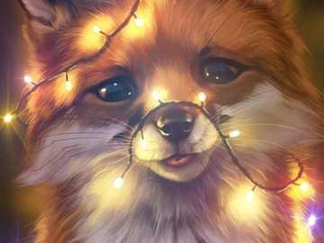 Glänzender Fuchs =) - Shining Fox - mein kleiner Wolf