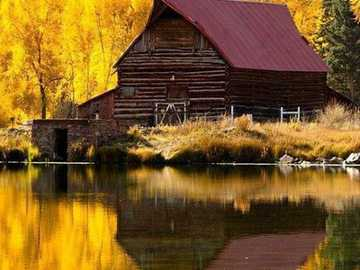 Goldherbst. - Puzzle goldenen Herbst.