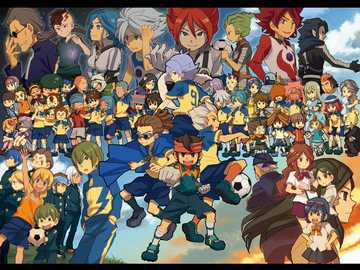 acius academy - the entire team of Raimon and all captains of the Academy of Alius