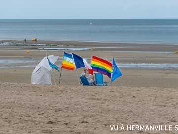 Při pohledu na Hermanville sur Mer - Při pohledu na Hermanville sur Mer! Trochu pozitivní! ?