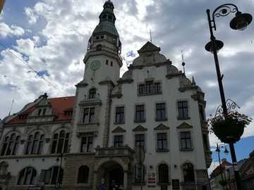 Hôtel de ville-Kamienna Góra - Bâtiment de l'hôtel de ville de Kamienna Góra