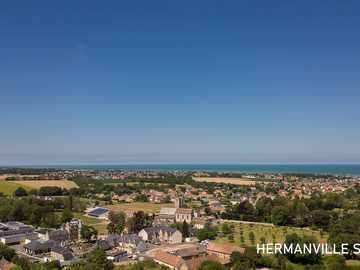 Hermanville sur Mer seen from the Sky! - Hermanville sur Mer - July 10, 2020