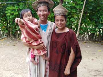 Fam.Flores Diego - Ucayali Ethnische Amahuaca San Ajuna De inuya