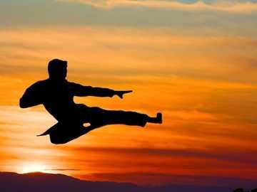 Karate - lot o zachodzie słońca - Karate - lot o zachodzie słońca