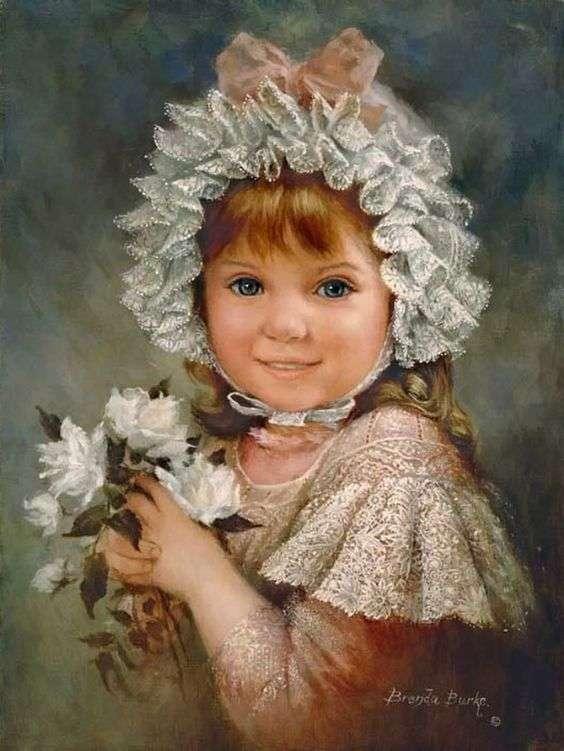 Petite fille =) - Petite fille aux yeux clairs =)