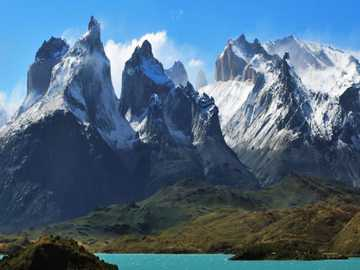 Andes mountains - Tourist place of Argentina