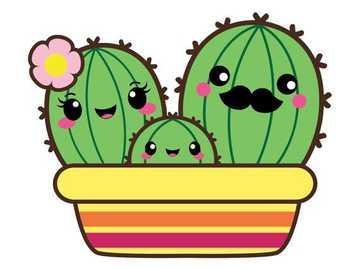kaktusiki - Cactus family <3