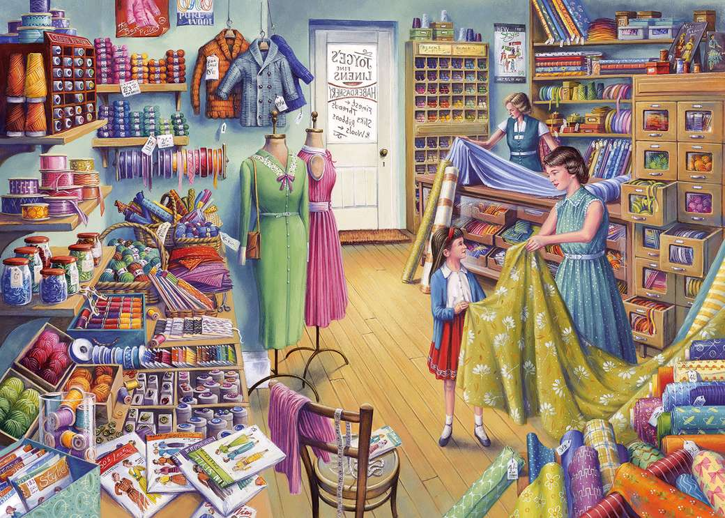 Fabric store - Fabrics, haberdashery and sewing patterns