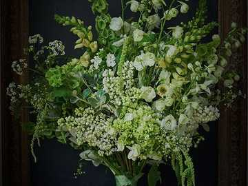 A bouquet of white flowers - A bouquet of white flowers ....