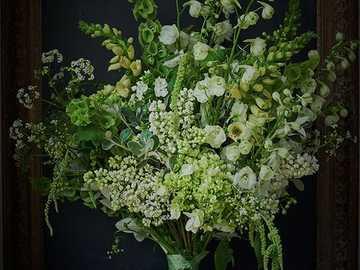 Bukiet białych kwiatów - Bukiet białych kwiatów ....