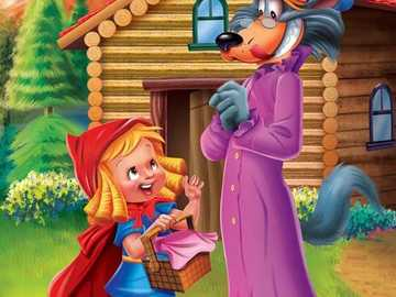 Red Riding Hood and the Wolf - Little Red Riding Hood and the Wolf =)