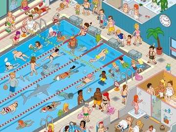 Nageons à la piscine! - Allons à la piscine!