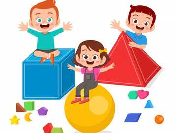 GEOMETRIC BODIES - PLAY INTERACTIVE WITH CHILDREN