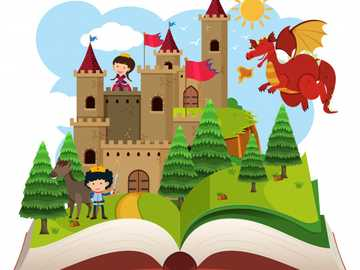 FAIRY TALE 1 - CHILDREN'S STORIES WITH MAGICAL CHARACTERS