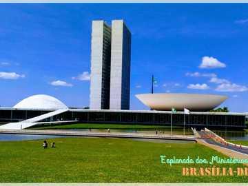 Brasilia DF - Brasília -DF - Esplanada dos Ministérios