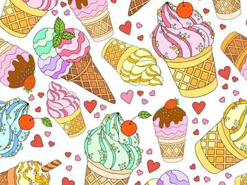 Ice Cream - We all love to eat ice cream during the summer, so if you're a fan of eating ice cream in summe