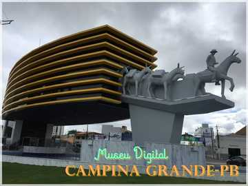 Muzeum Cyfrowe - Cyfrowe muzeum Campina Grande - Paraíba - Brazylia.