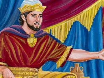 KING SOLOMON - KING SOLOMON ON HIS THRONE