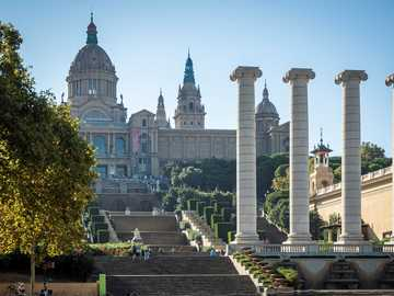 Catalonia. Museum - National Museum of Art in Barcelona