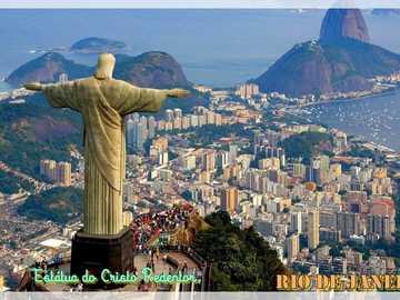 RIO DE JANEIRO - RJ - Meet Christ the Redeemer, located in RIO DE JANEIRO!