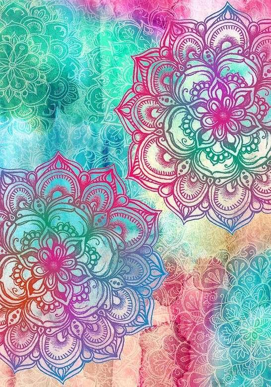 Mandala pokoju - takie jest życie, musisz się nim cieszyć (6×9)