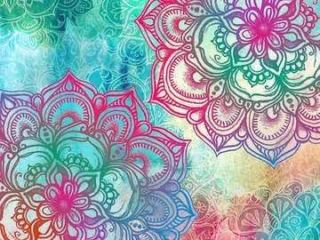 Mandala da paz - isso é vida, você tem que aproveitar