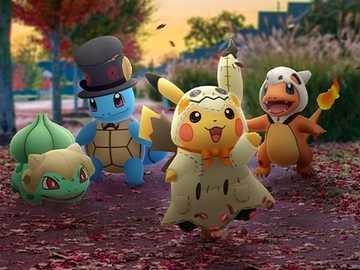 Pokemon halloween - Pokemon GO Halloween
