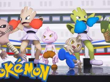Pokemon lucha - Pokemon de tipo lucha