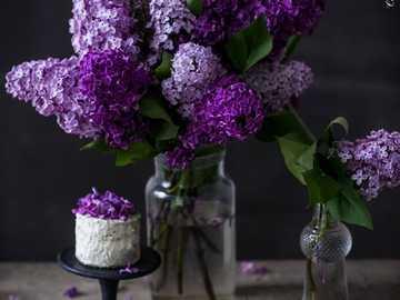 Lilac bouquet - Lilac bouquet ................