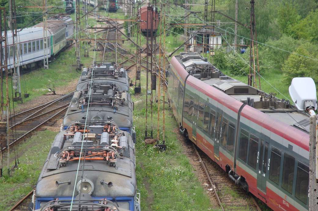 ατμομηχανή στην Κρακοβία Bieżanów-Prokocim