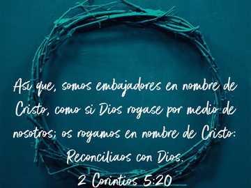2 CORINTI 5: 2O - Creato per condividere in una riunione di zoom e memorizzare il verso