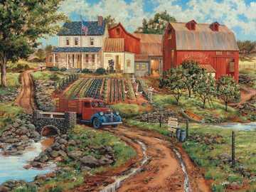 Edifici rurali. - Puzzle. Edifici rurali.