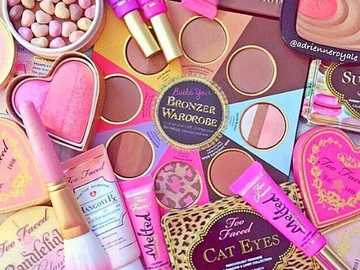 "pink cosmetics lover - A cosmetic is generally defined as ""Any substance or preparation for human use for the purpose of"