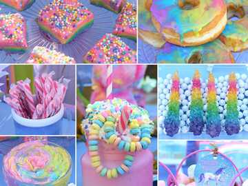 unicorn party snacks - A snack is a small service of food and generally eaten between meals. Snacks come in a variety of fo