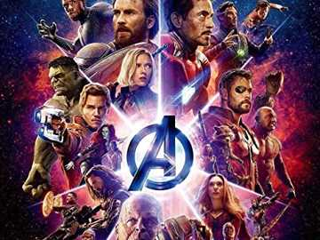 AVENGERS - Avengers. Earth's Mightiest Heroes stand as the planet's first line of defense against the