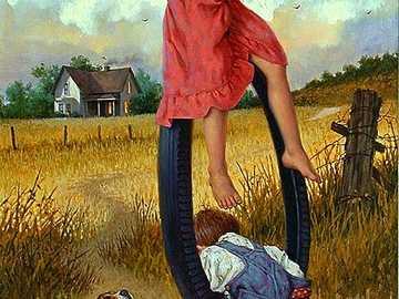 Portrait d'enfance heureuse =) - Portrait d'enfance heureuse =)