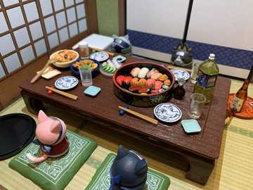 A Japanese meal - An appetizing Japanese meal