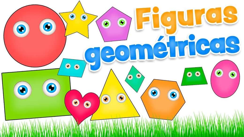 Geometrische figuren - herkent elk van de geometrische figuren (5×3)